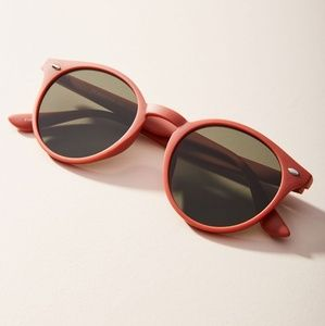 Anthropologie Olivia Round Sunglasses